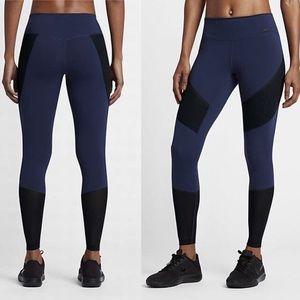 Nike Power Legendary Training tight blue/blackB224
